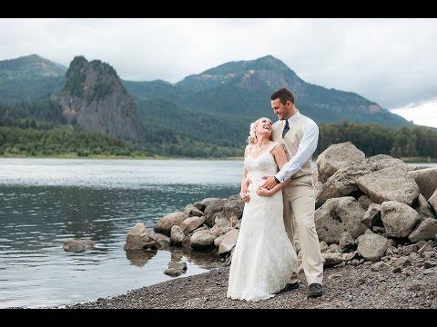 Moyer Wedding Multnomah Falls Portland Dj