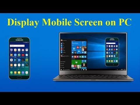 How To Mirror Your Android Screen To PC Laptop