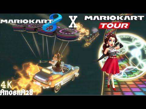 Mario kart 8: Pauline (Party Time) From Mario Kart Tour [4K] |