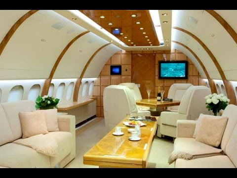 Boeing 757-256 Interior Private Plane Aircraft Charter Flight Service