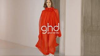 Behind the scenes: ghd x Victoria Beckham AW21 Digital Presentation | ghd x vb | backstage