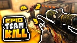 EPIC TEAM KILL (CS GO Funny Moments in Competitive)