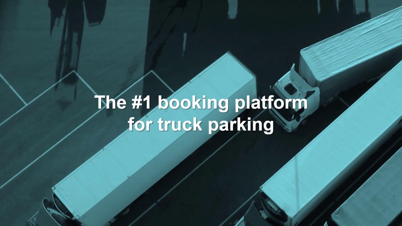 Booking platform for secure truck parking  - Truck Parking Europe