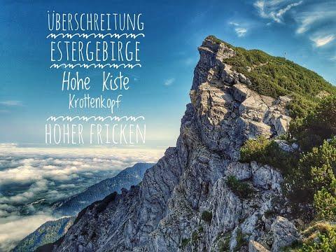 Überschreitung Estergebirge | Tagestour | Von Eschenlohe nach Farchant