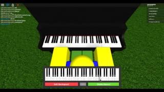 PIANO NOOB PLAYS: Roblox Piano Keyboard test v1.1....... EPIC PIANO SONG I MADE