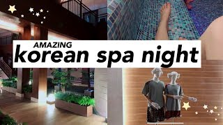 VLOG: korean spa night + I'M MOVING!