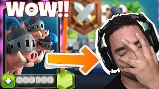 "I WISH THEY WOULDN'T DO THIS! ""Clash roayle"" NEW CARD CHEST"
