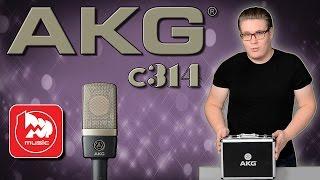 AKG C314 - студийный микрофон