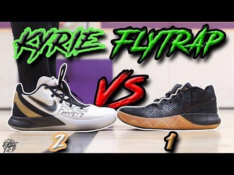 Nike Kyrie Flytrap 2 vs Kyrie Flytrap!