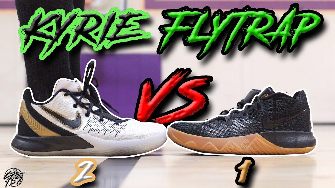 detailed look daf6f 9b632 Nike Kyrie Flytrap 2 vs Kyrie Flytrap!