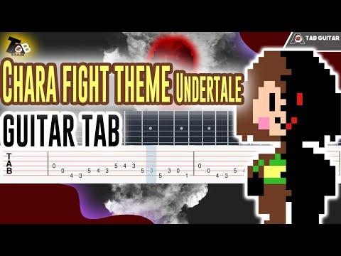 Undertale - Megalo Strike Back (Chara Fight Theme) Guitar Tutorial Tab