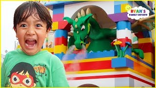 Legoland Hotel Tour  Ndoor Playground With Amusement Park For Kids