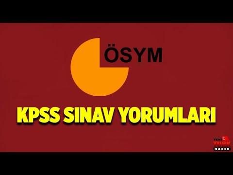 2016 KPSS Ortaöğretim Önlisans Sınav Soru ve Cevaplar