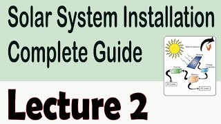 Solar Power System Basic Components | Solar System Installation Complete Guide in Urdu/Hindi 2