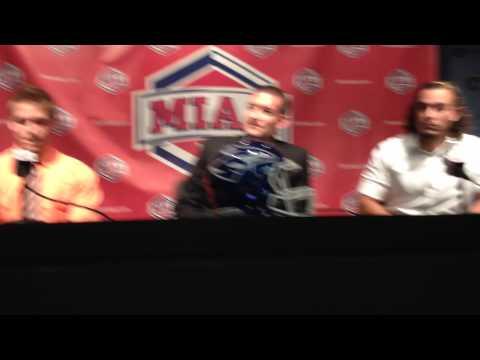 UNK Football at MIAA Media Day (Full Interview)