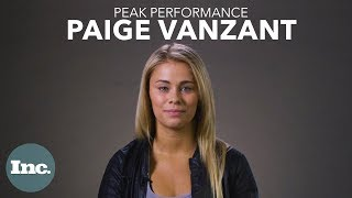 Paige VanZant Is Ready For Her Comeback   Inc.