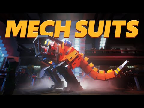 Mech Suits - Minecraft Marketplace Trailer