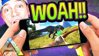 Ark Survival MOBILE! (iOS/Android) First Gameplay Review! [Nickatnyte]