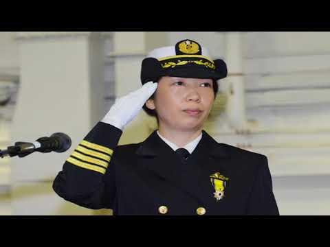 Perempuan Pertama Yang Jadi Komandan Kapal Perang Jepang   Ryoko Azuma