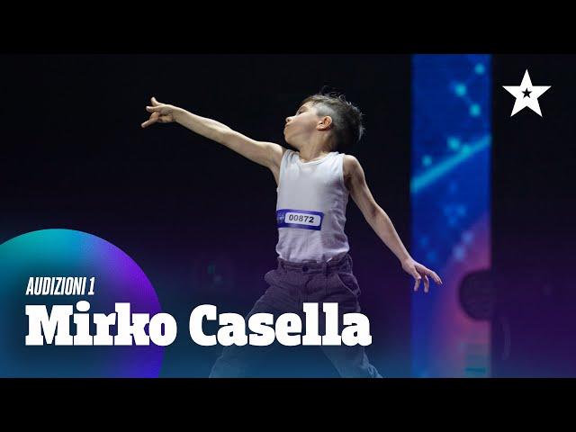 Mirko, dal calcio a futura stella della danza