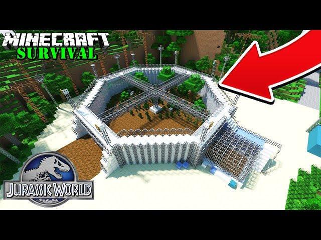 CUMA KITA YANG BISA BIKIN DINO PARK PALING KEREN ! Minecraft Survival #76