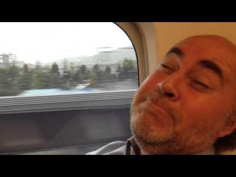 El tren bala de Tokyo a Kyoto