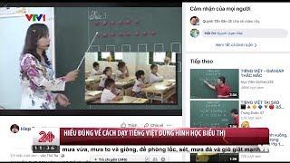 Hiểu đúng về cách dạy Tiếng Việt bằng hình học biểu thị | Dzule Play