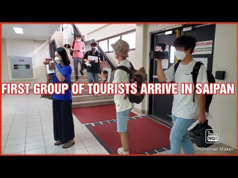 HOW SAIPAN WELCOME BACK TOURISTS