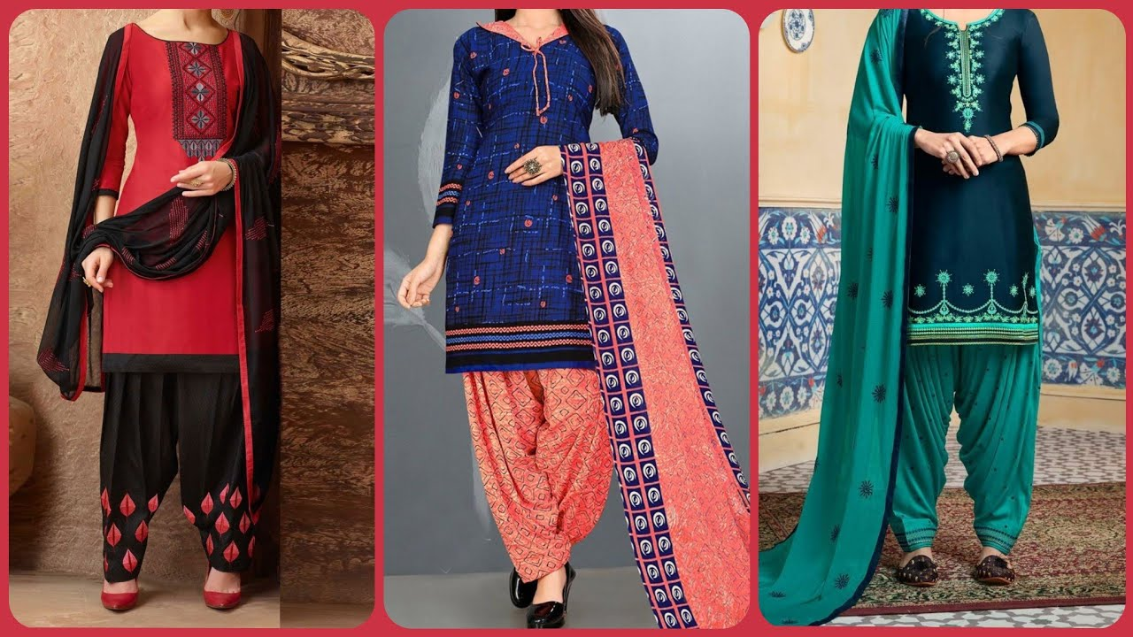 New Casual Salwar Suit Designs For Eid Ladies Designer Salwar Kameez Design 2020 Punjabi Suits Youtube