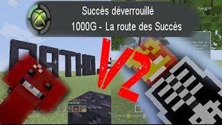[Map/Minecraft Xbox One] La route des succès V2 ! Tous les succès en 20 minutes !