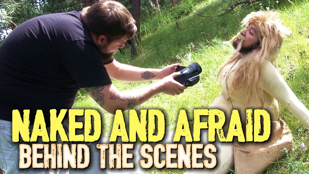 Naked And Afraid Parody  Behind The Scenes - Youtube-5673