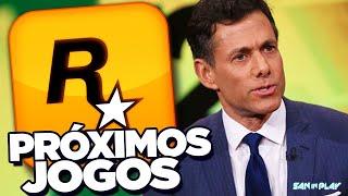 Chefe da ROCKSTAR GAMES fala sobre PRÓXIMOS LANÇAMENTOS - GTA 6 a CAMINHO!