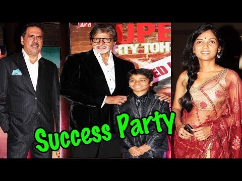 Bhootnath Success Party With Amith Bachchan, Boman Irani