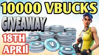 *10000* VBUCK GIVEAWAY| Fastest builder| Fortnite Battle Royale