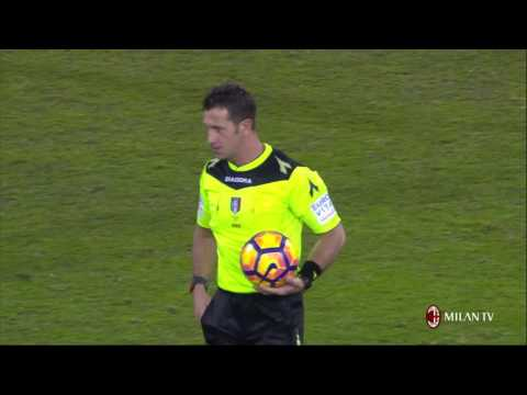 Highlights Bologna FC-AC Milan  10th February 2017 Serie A
