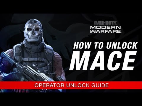 Modern Warfare How To Unlock Mace Operator Unlock Guide Call