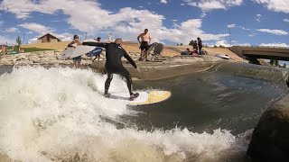 RIVER SURFING IN DENVER COLORADO