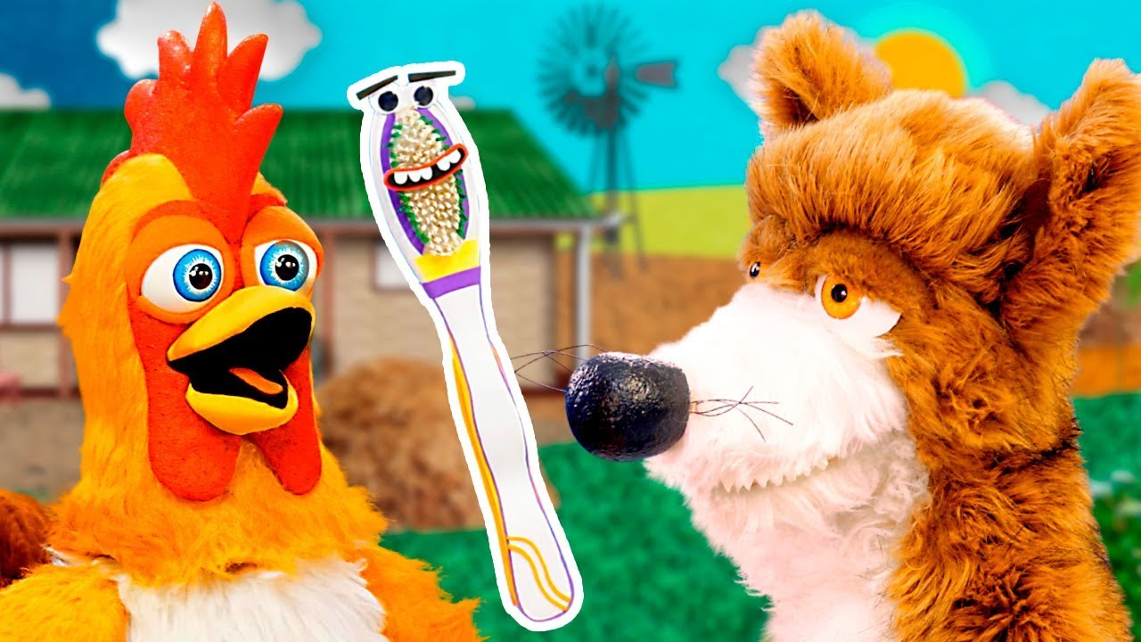 Un Cepillo de Dientes Para El Lobo Beto - Las Marionetas de La Granja de Zenón | La Granja de Zenón