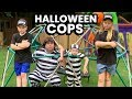 Halloween Cops and Halloween Town Jail Escape featuring The Assistant from The Engineering Family
