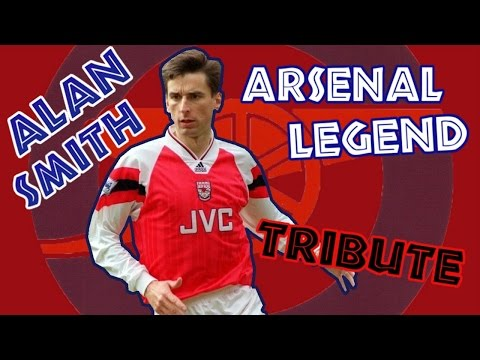 ALAN SMITH - Arsenal legend