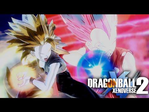 Dragon Ball Xenoverse 2 BEST ULTIMATE ATTACK - Final Kamehameha vs x4 Kaioken Kamehameha