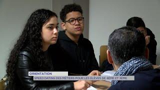 Yvelines | Orientation : speed dating des métiers pour les élèves de 4ème et 3ème