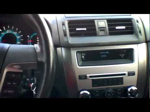 2010 Ford Fusion SEL 2.5L Start Up, Quick Tour, & Rev With Exhaust View - 101K