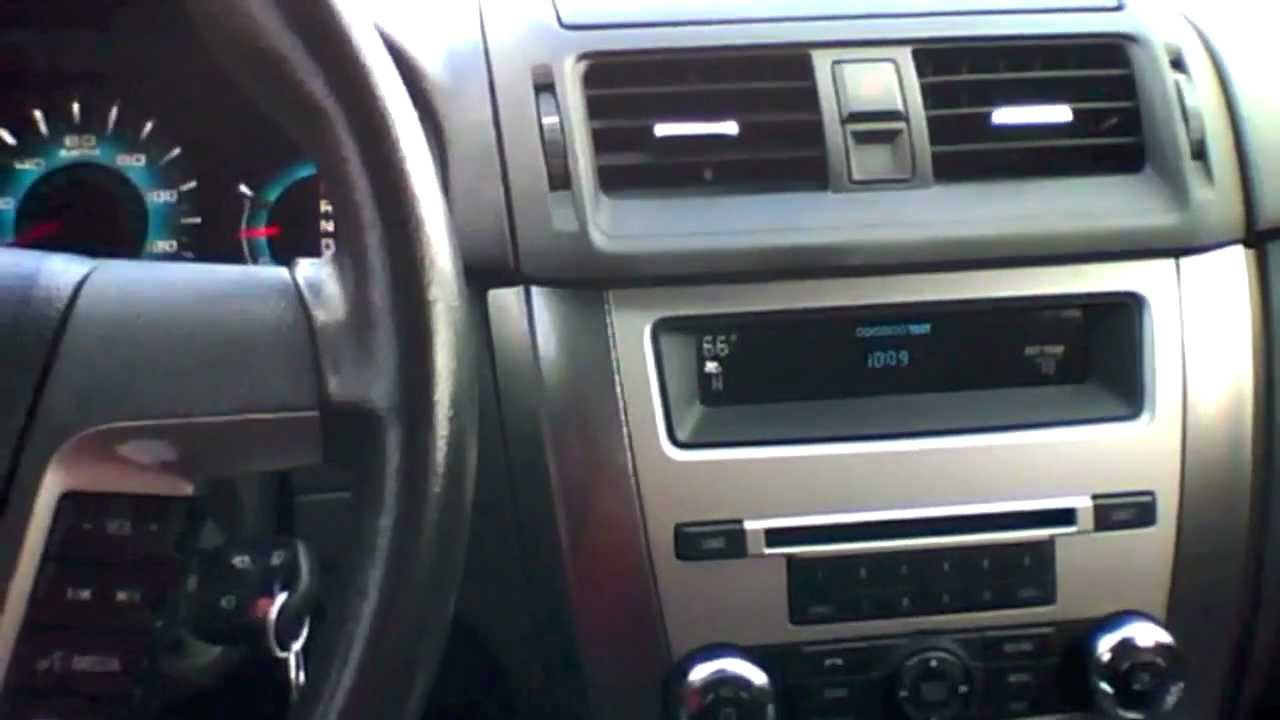 2010 ford fusion sel 2 5l start up quick tour rev with exhaust view 101k youtube