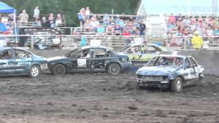 Marshall County Fairgrounds - Blue Rapids, Kansas - Racing action