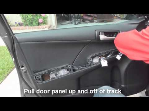 How To Replace The Rear Door Lock Actuator On A 2007
