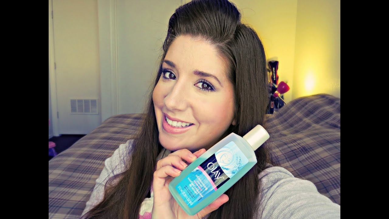 Review Olay Oil Minimizing Toner Youtube