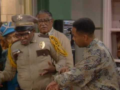 Otis giving an Ass Whooping ! Martin TV Show