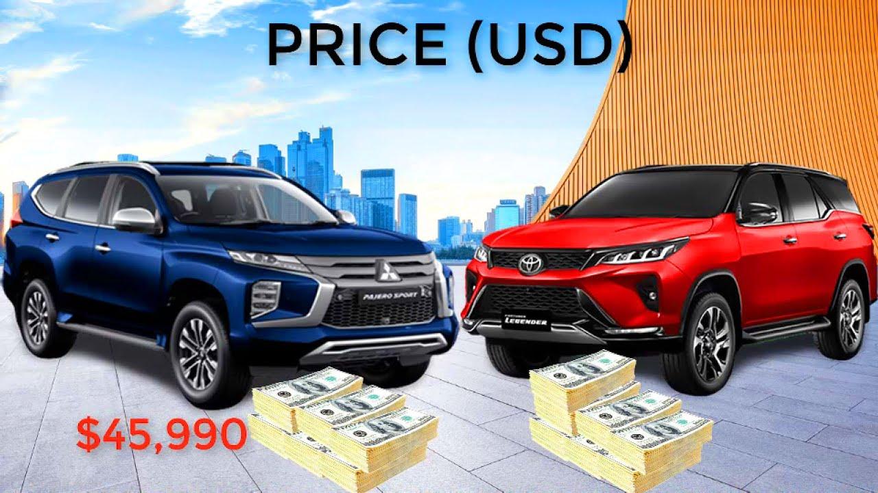 The Most Popular Asian SUVs! 2021 TOYOTA FORTUNER LEGENDER ...