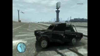 Gta 4 prikol and VaZ 2107 showw